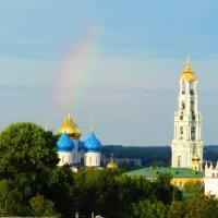 Радуга над Лаврой :: Виктор Новиков