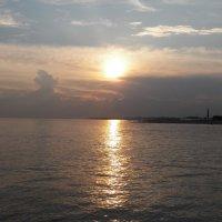Закат на Финском заливе. :: Жанна Мааита