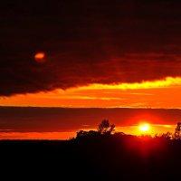 Осенний закат :: Андрей Куприянов