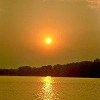 Золотой закат на Волге :: Лидия (naum.lidiya)