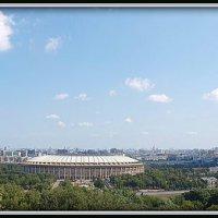 Панорама Москвы :: Михаил Малец