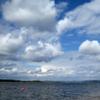 Облака над Волгой 2 :: leoligra
