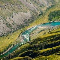 Горная река :: Елена Решетникова