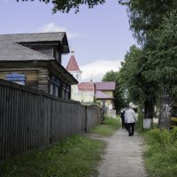 Улочка на берегу :: Александр Знаменский