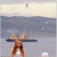 Девочка с буксирами :: Кай-8 (Ярослав) Забелин