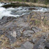 У водопада Кивач :: Андрей Божьев