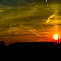 Захід сонця... :: Юрій Гудим