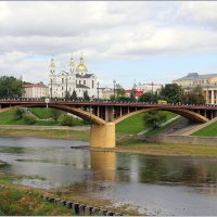 Западная Двина обмелела. :: Роланд Дубровский