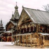 Деревянное зодчество Руси.. :: tipchik