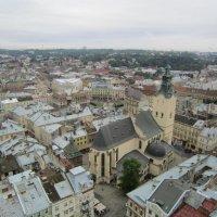 Вид с городской Ратуши :: Zinaida Belaniuk