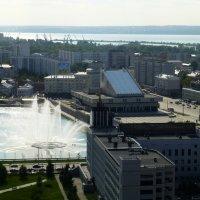 Вид на Казань со смотровой площадки Гранд Отель Казань :: Наиля