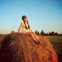 На сене :: Мария Шарунова