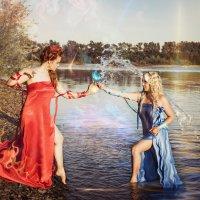 Огонь и вода. Противостояние... :: Мария Дергунова