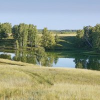 Степное озерцо #1 :: Виктор Четошников