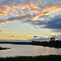 закат на Греховом ручье :: Galina