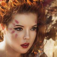 Стихия огня :: Мария Дергунова