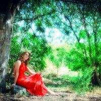 Girl on red :: KanSky - Карен Чахалян