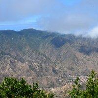 На горы легла тень от облаков. :: Наталья C