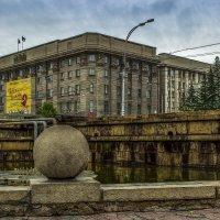 Новосибирск, ул. Красный проспект, 34. Мэрия г. Новосибирска :: Sergey Kuznetcov