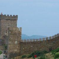 Генуэзская крепость. :: MEXAHNK НИКОНОВ