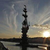 Небесный салют Москве :: Татьяна Нестерова