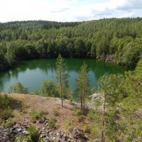 лесное озеро :: Валентина Папилова