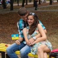 Счастье - это когда тебя обнимают :: Юрий Муханов