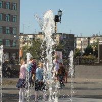 брызги фонтана :: Юлия Мошкова