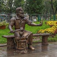 Памятник скобарю. :: Виктор Грузнов