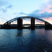 Мост в закате :: Сергей Василенко