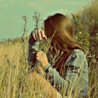 Гора Кумысная поляна, любуюсь городом :: Виктория Дмитриевна