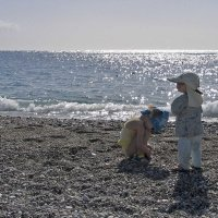 Дети и море. :: Сергей Израилев
