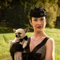 Дама с собачкой... :: Валентин Яруллин