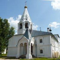 Церковь во имя Богоявления Господня в Свято-Лукиановой мужской пустыни... :: Galina Leskova