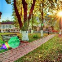 В парке на закате :: Андрей Куприянов