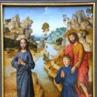 "Dieric Bouts ""Johannes Weist auf Jesus"" :: Olga"