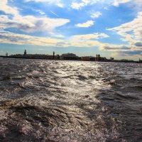 Нева и небо :: Никита Иванов