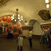 Станция метро Киевская Иностранные туристы :: Тамара Цилиакус