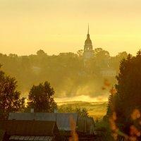Утро в Тотьме :: Валерий Талашов