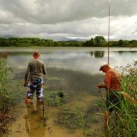 На рыбалке :: Лилия Гиндулина