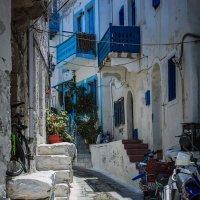 улица в греческой деревушке :: Юрий ефимов