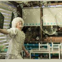 Ангел мыльных пузырей :: Лена Варди
