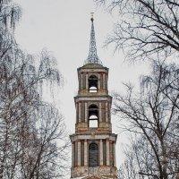 Венёв. Колокольня церкви Николая Чудотворца. :: Анастасия Смирнова
