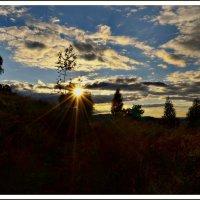 Осеннее закатное... :: galina tihonova