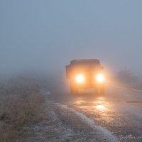 Туман на Семинском перевале. :: Павел Осокин
