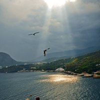 Порвавшееся небо :: Александр Бойко