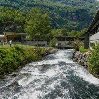 Мирное течение бурного водопада :: Светлана Игнатьева