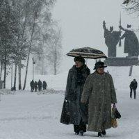 снегопад :: Андрей Рыбацкий