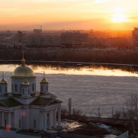 Закат на Оке :: Serj_52Rus