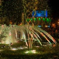 Цвето-музыкальный фонтан :: Марк